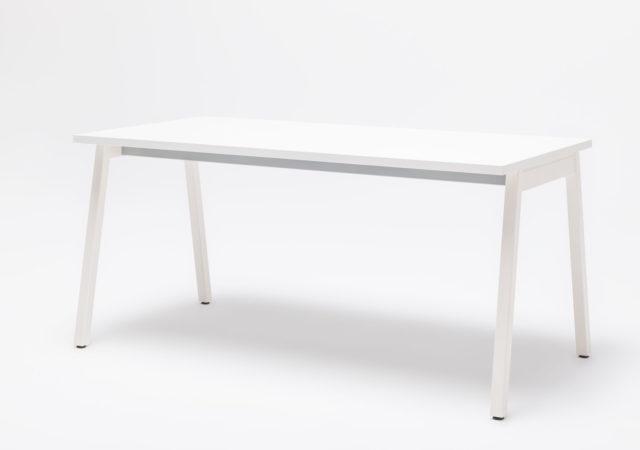 Pisalna miza z belim podnožjem
