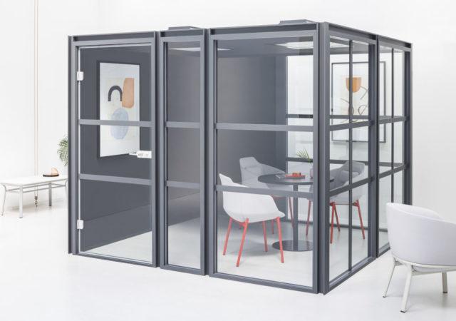 Silent box Hako kot konferenčna soba