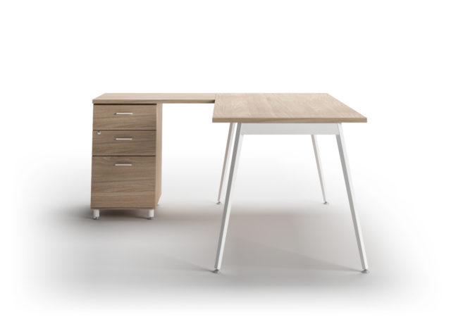 Pisarniška miza s predalnikom