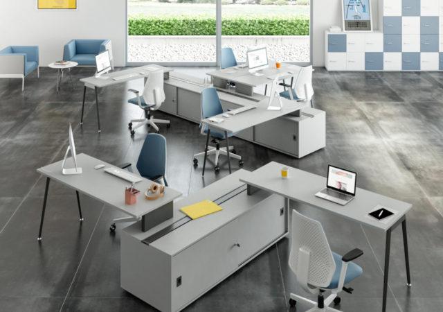 Pisalne mize X3 z omarico