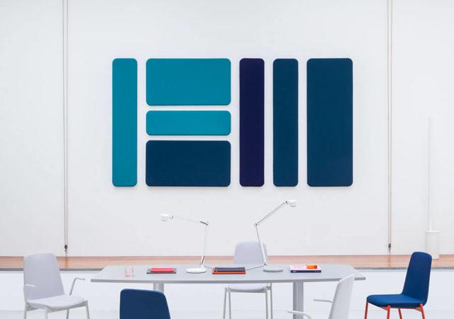 Ravni stenski akustični paneli