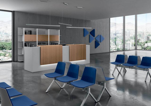 Akustični paneli v čakalnici
