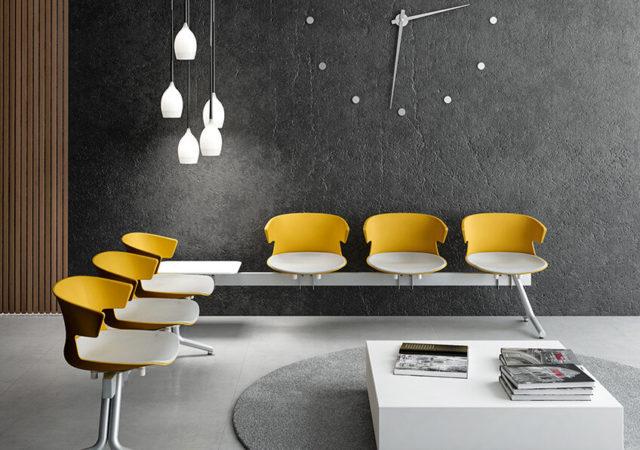 Klubska mizica stoli za čakalnice