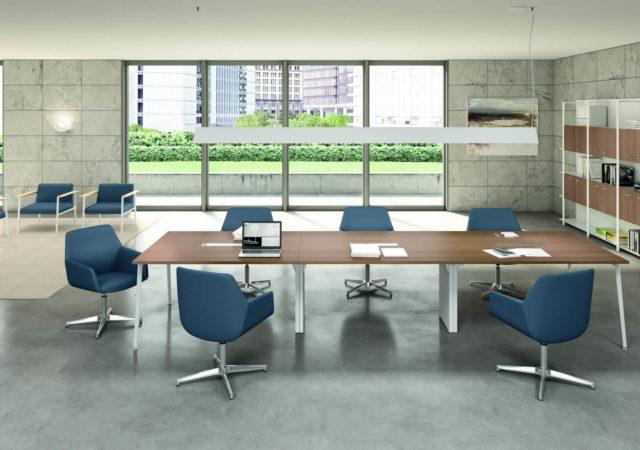 Konferenčne mize X3 s elektrifikacijo