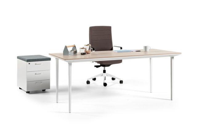 Pisalne mize Longo s predalnikom