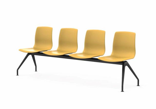 Štirisedni stoli za čakalnice Noom