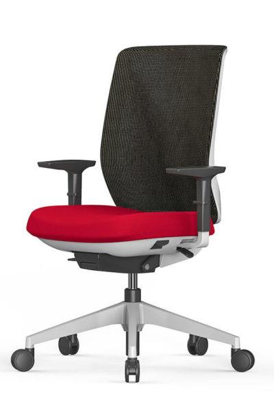 Stoli za pisarne v mreži Trim